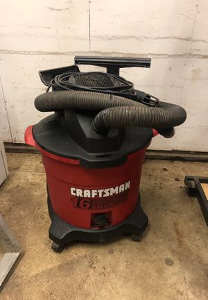 Craftsman 16 gallon Shop Vacuum and Blower for Sale in Oregon City, OR