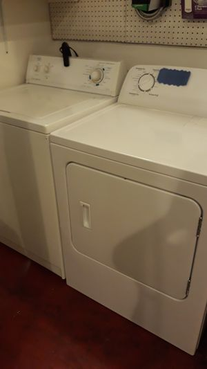 Roper washer and dryer set excellent condition 4months warranty for Sale in Lansdowne, MD