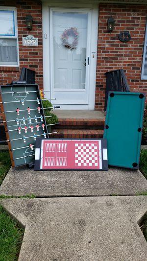Multiple gaming table for Sale in Trenton, NJ