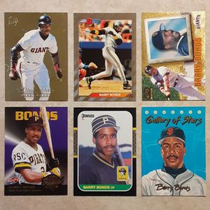 Lot of (20) Premium BARRY BONDS Baseball Cards - 1987-2000 (Pittsburgh Pirates / S.F. Giants) - Nice Variety w/ no duplicates - MUST SEE! for Sale in Mesa, AZ