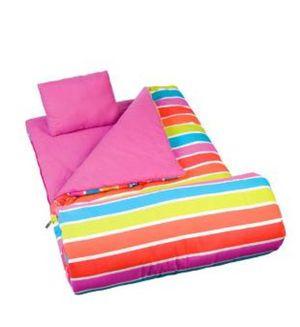 Wildkin Bright Stripes Original Sleeping Bag for Sale in Dearborn, MI