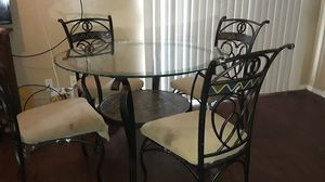 Dining or garden table with 4 chairs for Sale in Grand Prairie, TX