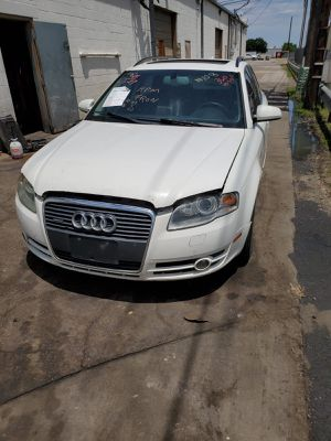 PARTING OUT 2005 AUDI A4 QUATTRO WHITE for Sale in Irving, TX