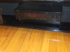 SHERWOOD RX-4109 Stereo receiver 100w with 2 Sony SS-B1000 120w 8-ohm bookshelf speakers for Sale in Silver Spring, MD