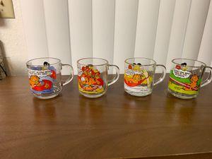 Mc Donald's collectors glass mugs for Sale in Escondido, CA