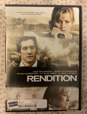 Rendition DVD 2008 for Sale in Chapel Hill, NC