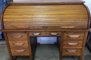 Antique roll-top desk for Sale in Wichita, KS
