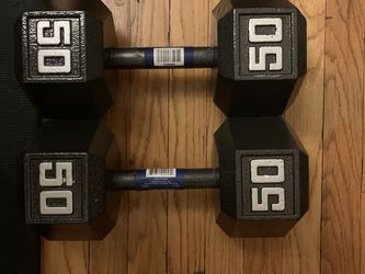 NEW HEX DUMBELL SET 50s for Sale in Chicago,  IL