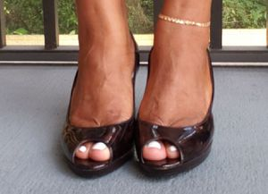 Women Brown Heel Size 8.5 for Sale in TEMPLE TERR, FL