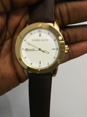 Beautiful gold and brown men's watch by Daniel David for Sale in Silver Spring, MD