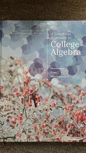Algebra book for Sale in Wichita, KS