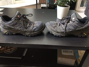 Merrell Moab 2 Waterproof (Beluga) hiking boots for Sale in Washington Grove, MD