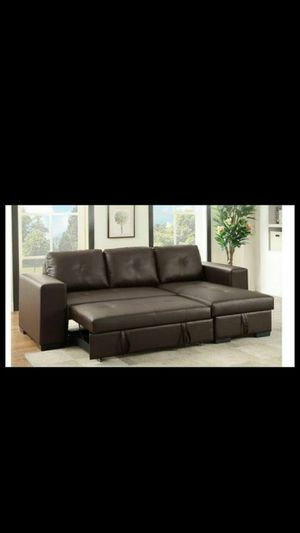 SECTIONAL SOFA COUCH WITH STORAGE NEW IN BOX for Sale in Newark, NJ