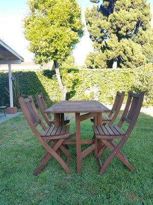 Wooden Folding Patio Furniture for Sale in Artesia, CA