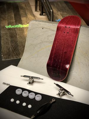 """Woodhouse fingerboards complete """"Double Raspberry"""" for Sale in Laguna Hills, CA"""