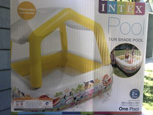 Brand new Intex Pool with sun shade (5ft? for Sale in Norcross, GA
