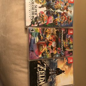 NINTENDO SWITCH GAMES for Sale in Burtonsville, MD