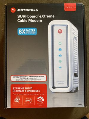 Motorola SURFboard eXtreme Cable Modem for Sale in Seattle, WA
