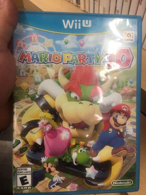 Wii Mario party 10 for Sale in Phoenix, AZ