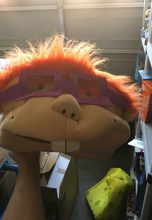 Rugrat chuckie oversized mask for Sale in Buckeye, AZ