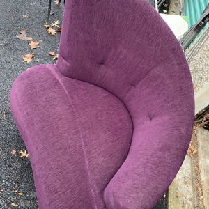 Asemetric Purple Chair for Sale in Columbus, OH