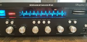 Vintage Black face Marantz 2230 with Polk Monitor 10 speakers for Sale in Goodyear, AZ
