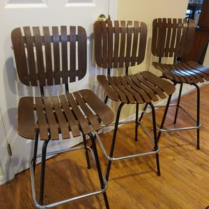Three Mid Century Barstools for Sale in Bothell, WA
