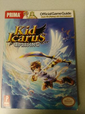 Kid Icarus uprising prima Strategy Game Guide Nintendo 3ds. for Sale in Fort Pierce, FL