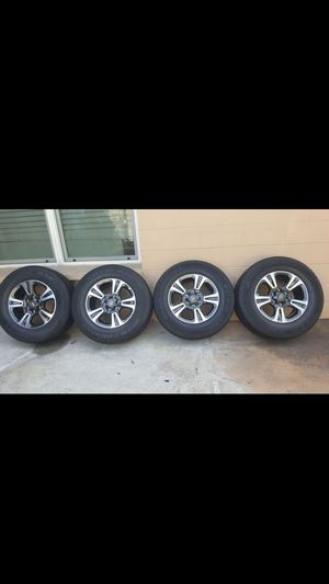 TACOMA, TUNDRA, SEQUOIA, 4RUNNER 2019 RIMS & TIRES (265/65R17) for Sale in Tampa, FL