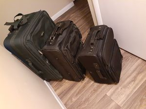 Luggage 3 sizes: big/medium (carry on) / small for Sale in Columbus, OH
