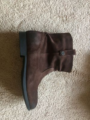 Brown Birkenstock boots size 9 1/2 for Sale in Long Beach, MS