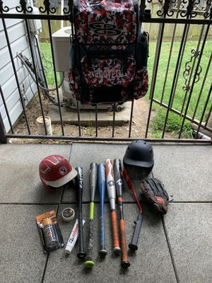 Baseball equipment set for Sale in Channelview, TX