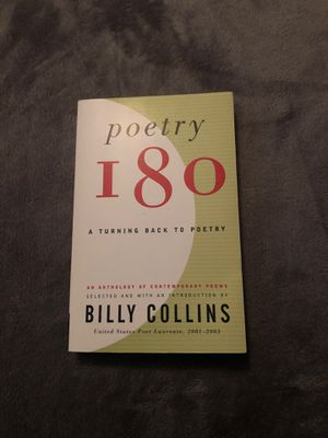 Poetry 180 by Billy Collins for Sale in Arroyo Grande, CA