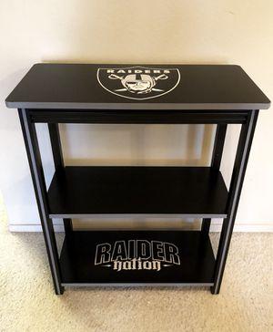 Oakland Raiders Book Shelf for Sale in Kingsburg, CA