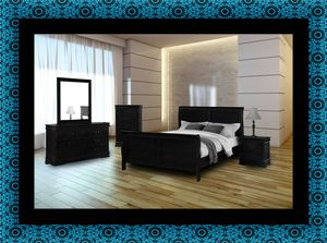 11pc black bedroom set for Sale in Takoma Park, MD