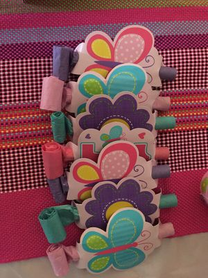 Girl birthday party blowouts for Sale in Baltimore, MD
