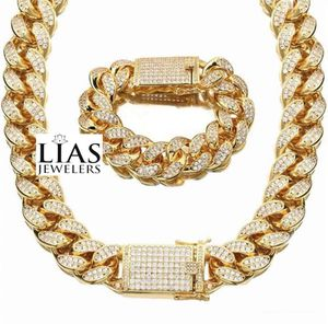 New 18 k yellow gold Cuban link chain and bracelet for Sale in Orlando, FL