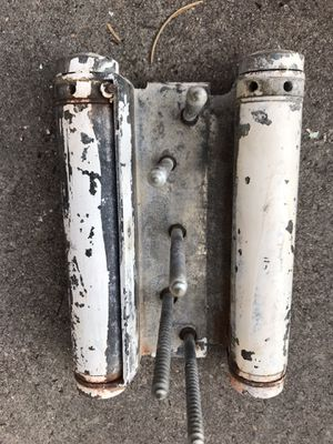 3 heavy duty saloon type ,dual swing hinges , good for heavy door. $6.00 each or three for $15.00. for Sale in Heber, AZ