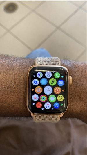 Apple Watch series 4 with cellular data for Sale in Plantation, FL