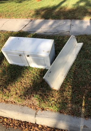 Cabinet and shelf - FREE for Sale in Norfolk, VA