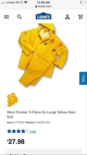 Yellow rain suit for Sale in Land O Lakes, FL