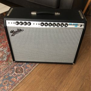2016 Fender Twin Reverb Silverface 68 Reissue for Sale in San Diego, CA