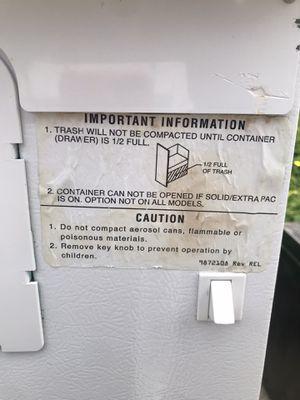 Compactor for Sale in Fullerton, CA