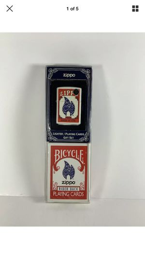 Zippo and cards brand new rare for Sale in Oceanside, NY