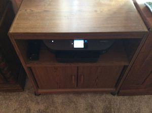 TV stand with shelf and storage for Sale in Schaumburg, IL
