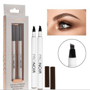 2-PACK LIQUID EYEBROW MICRO-BLADING TATTOO PENS - LIGHT-BROWN for Sale in Tampa, FL