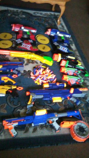 Nerf guns & rifles for Sale in Inglewood, CA