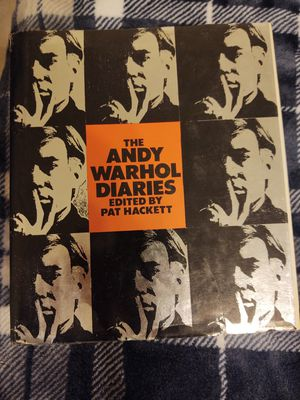 The Andy Warhol Diaries book for Sale in Gold Canyon, AZ