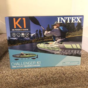 Intex K1 Challenger Kayak Brand New for Sale in Ithaca, NY