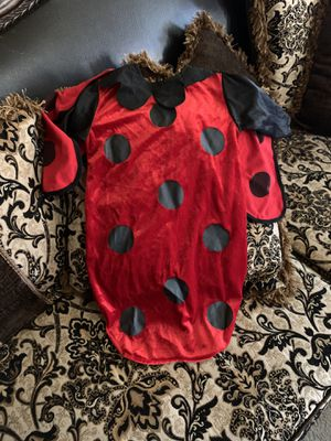 Lady Bug Costume 0-9m for Sale in Bakersfield, CA